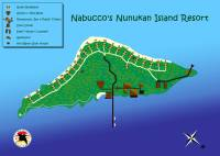 Nabucco´s Nunukan Island Resort - Map