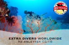 EXTRA DIVERS Newsletter 02/2018