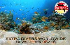 EXTRA DIVERS Newsletter 05/2018