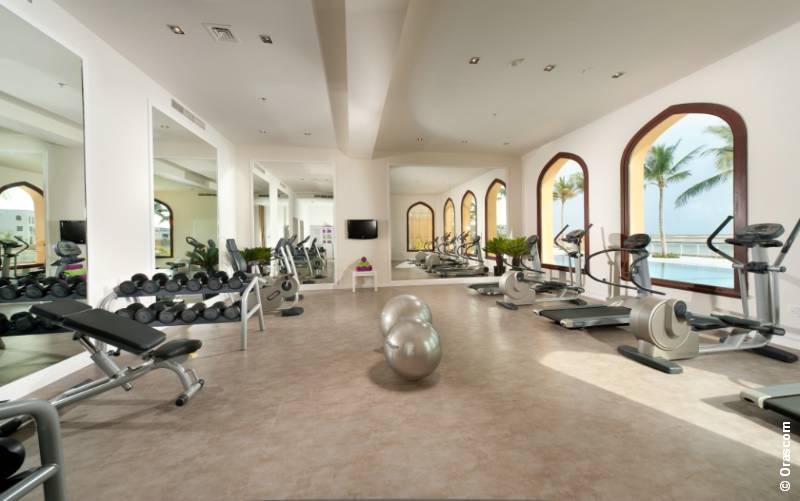 Fitnessraum hotel  Hotel: Juweira Boutique Hotel / Oman | EXTRA DIVERS WORLDWIDE